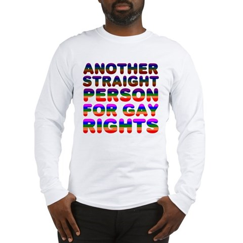 Pro Gay Rights Family Long Sleeve T-Shirt by CafePress