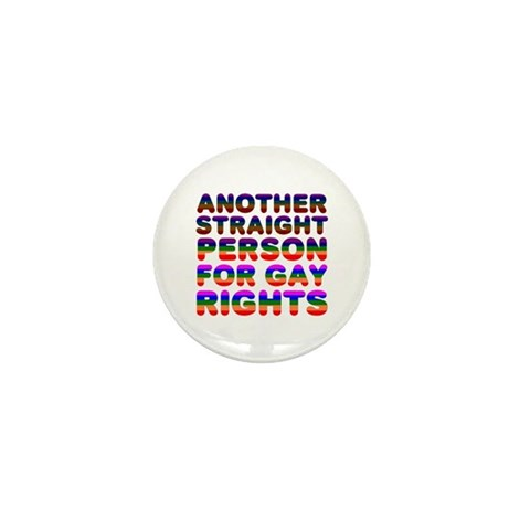 Pro Gay Rights Family Mini Button 10 pack by CafePress