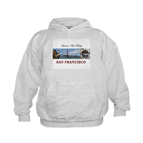 ABH San Francisco  Travel Kids Hoodie by CafePress