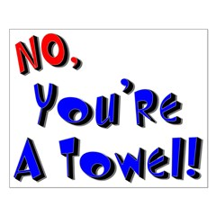 No, You're A Towel!