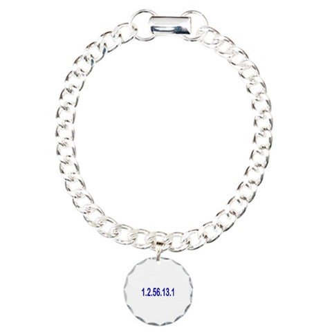 1.2.56.13.1  Sports Charm Bracelet, One Charm by CafePress
