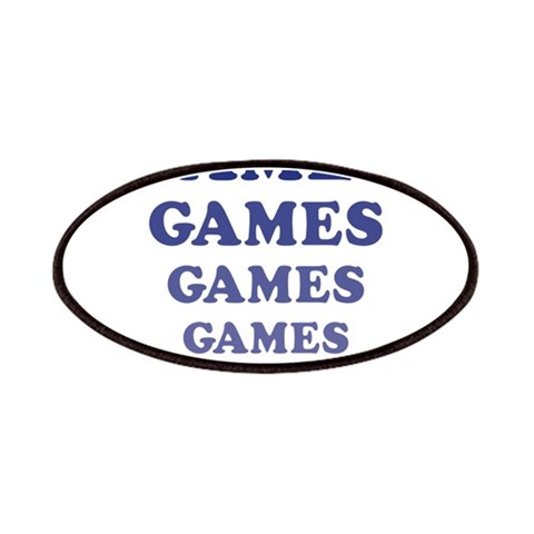 Amusement Park Games  Sports Patches by CafePress