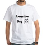 Laundry Day White T-Shirt