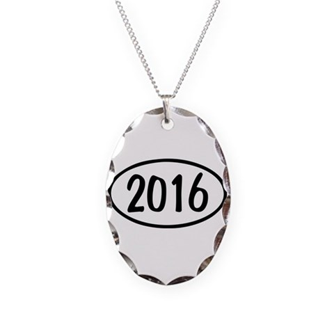 2016 Oval  Teacher Necklace Oval Charm by CafePress