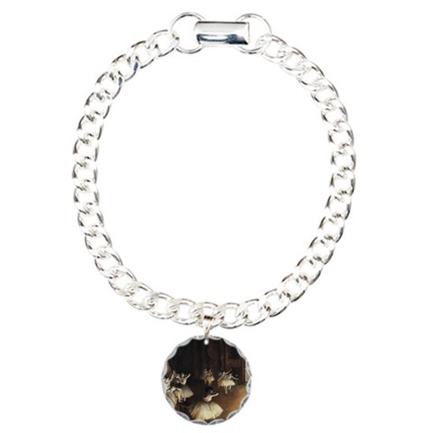 Edgar Degas  Dance Charm Bracelet, One Charm by CafePress