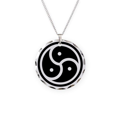 Bdsm Necklace Circle Charm by CafePress