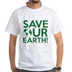 Save Our Earth White T-Shirt