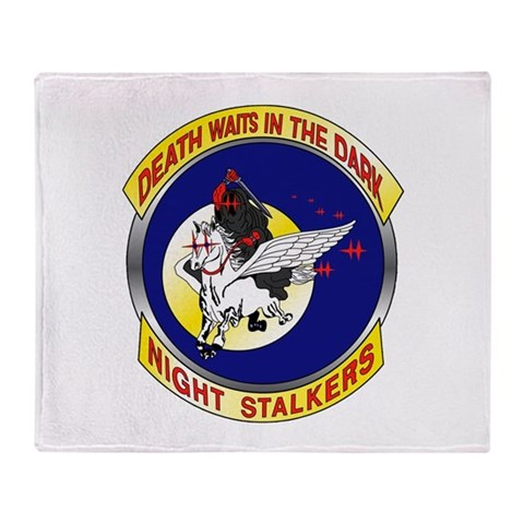 160th SOAR  Military Stadium Blanket by CafePress