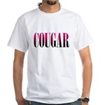 Cougar White T-Shirt
