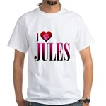 I Heart Jules White T-Shirt
