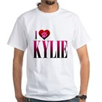 I Heart Kylie White T-Shirt