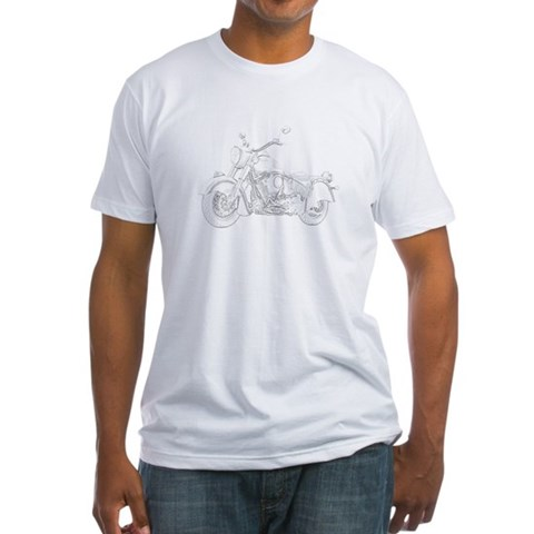 Product Image of Indian Motorcycle Fitted T-Shirt
