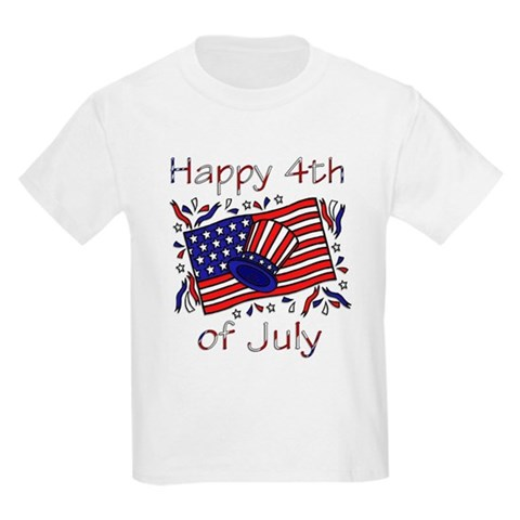 Product Image of 4th of July Celebration Kids T-Shirt