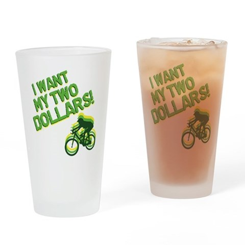 Better Off Dead  Vintage Drinking Glass by CafePress