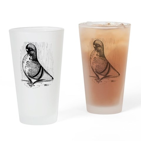 African Owl 1978  Pets Drinking Glass by CafePress