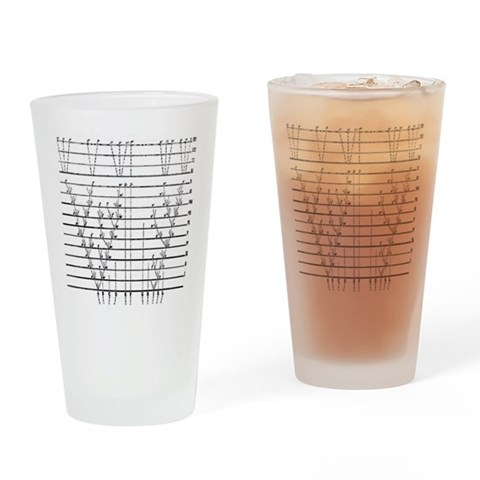 Biology Drinking Glass by CafePress
