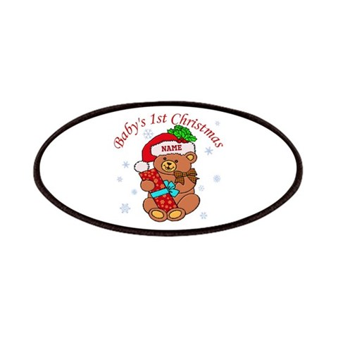 Baby's 1st Christmas 2011  Cute Patches by CafePress