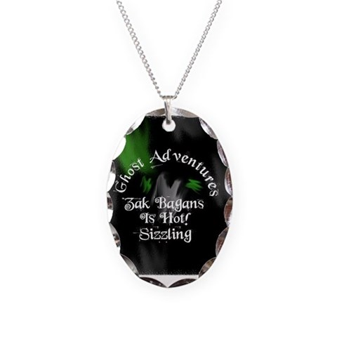 Ghost Adventures  Hot Necklace Oval Charm by CafePress