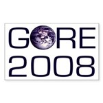 For Earth, Gore 2008 Bumper Sticker