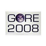 Gore for the Earth 2008 Rectangle Magnet