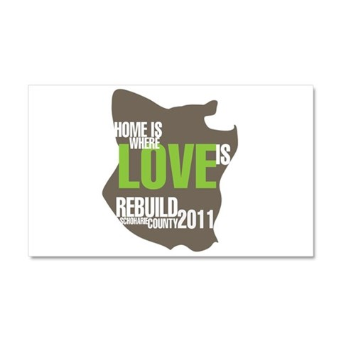 New york Car Magnet 20 x 12 by CafePress