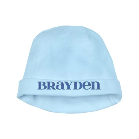 Brayden Blue Glass  Cupsreviewcomplete baby hat by CafePress