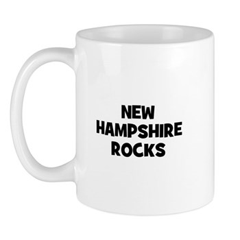 NEW HAMPSHIRE  ROCKS Mug
