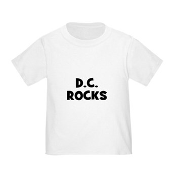 D.C. ROCKS Toddler T-Shirt