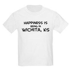 Happiness is Wichita Kids T-Shirt