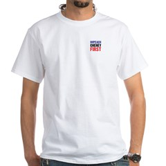 Impeach Cheney White T-Shirt