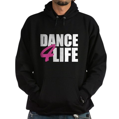 dance 4 life Sports Hoodie dark by CafePress