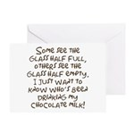 Chocolate Milk Greeting Card