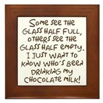 Chocolate Milk Plaque