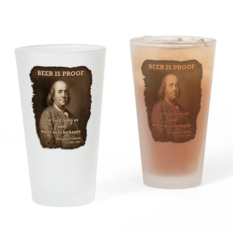 Ben/Rag-Edge  Hobbies Drinking Glass by CafePress