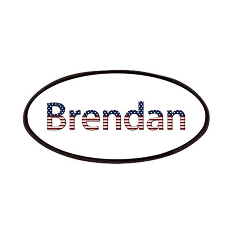 Brendan Stars and Stripes Patch Cupsreviewcomplete Patches by CafePress