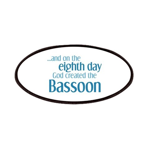 Bassoon Creation  Music Patches by CafePress