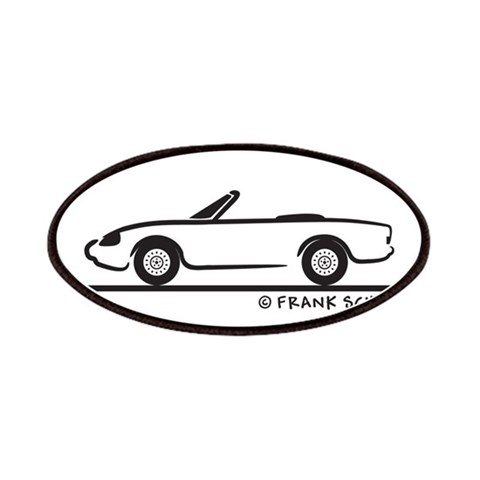 Alfa Romeo Spider  Hobbies Patches by CafePress