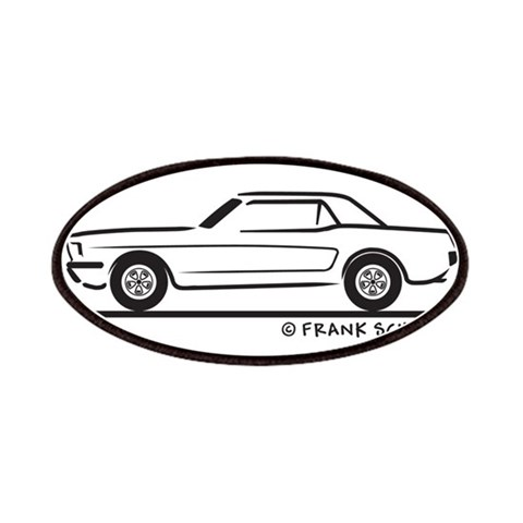 1965 Ford Mustang Hardtop  Hobbies Patches by CafePress