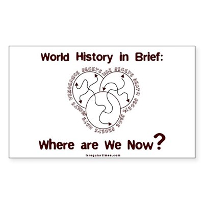 World History: Where are We Now? sticker