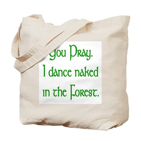 Naked Pagan  Dance Tote Bag by CafePress
