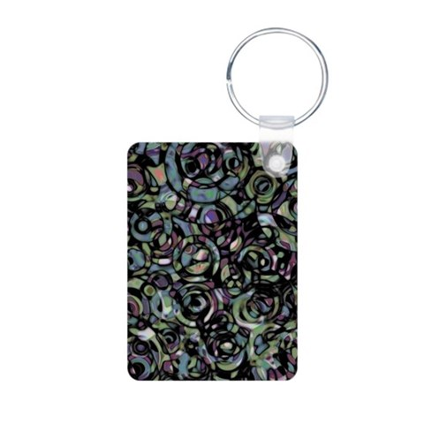 Cercle Nouveau  Vintage Aluminum Photo Keychain by CafePress