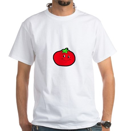 Happy Tomato White T-Shirt