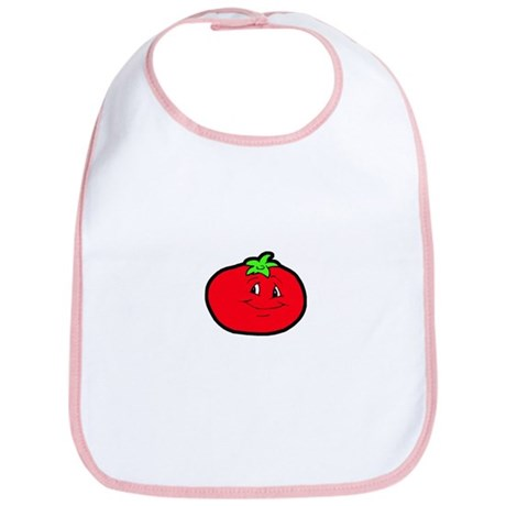 Happy Tomato Bib