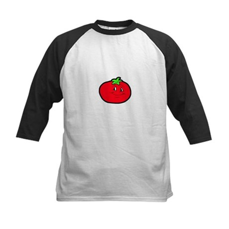 Happy Tomato Kids Baseball Jersey