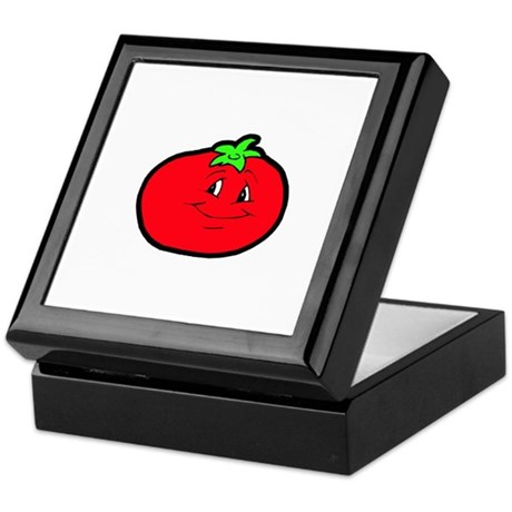 Happy Tomato Keepsake Box