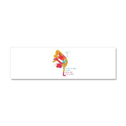 Dancer - Artist  Cool Car Magnet 10 x 3 by CafePress