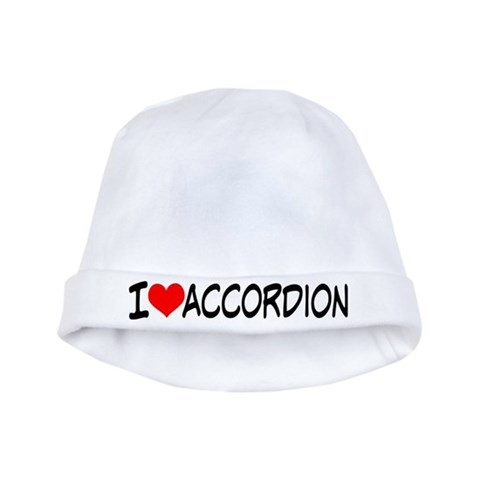 Accordion Music  Music baby hat by CafePress