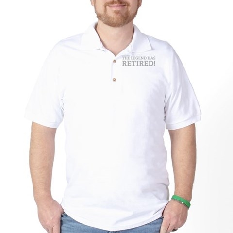 Product Image of The Legend Has Retired! Golf Shirt