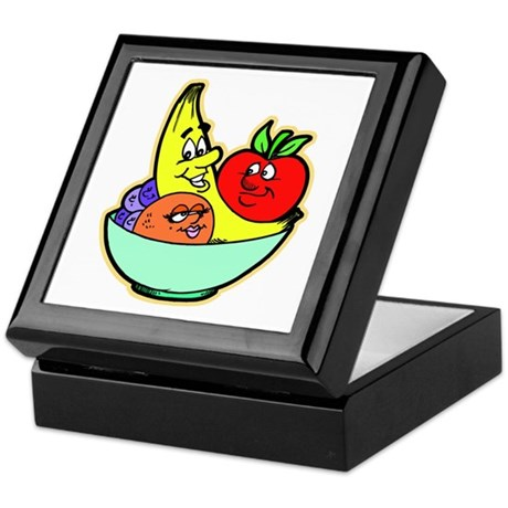 Fruit Friends Keepsake Box