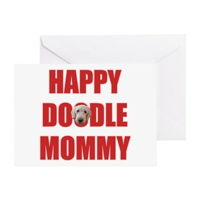 Labradoodle Mom Greeting Card